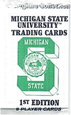 Michigan State Spartans All Time Greats trading cards, First Edition full pack