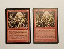 Awesome Magic the Gathering MTG Tempest Mogg Conscripts x2 nm/mint English