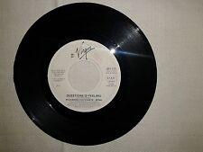 """Cocciante / Mina-Questione Di Feeling–Disco Vinile 45 Giri 7"""" Ed.Promo Juke Box"""