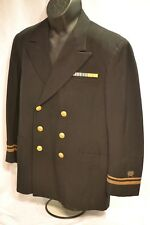WWII US NAVY OFFICER SERVICE BLUE UNIFORM RARE CIVIL ENGINEER CORPS LIEUTENANT