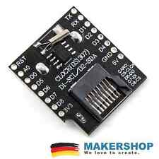 D1 MINI DATA LOGGER SHIELD SLOT MICROSD ds1307 wemos Arduino allargamento