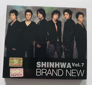Shinhwa 7th Album Brand New Korea Press CD - No Photocard