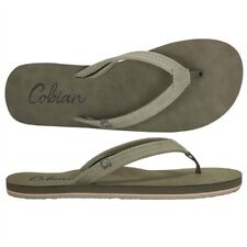 Cobian PACIFICA Womens Synthetic Strap Flip-Flop Sandals 8 Charcoal NEW 2018