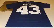 Toronto Maple Leafs nazem Kadri Reebok logotipo da equipe de número de nome T camisa XL azul