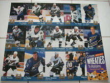 Washington Capitals Uncut Sheet of Trading Cards Featuring 13 Players 1995-65