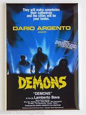 Demons FRIDGE MAGNET (2 x 3 inches) movie poster dario argento horror