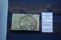 FRANCOBOLLI OLANDA USATI N°71 (F18353)