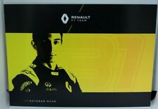 New listing 2020 Esteban Ocon F1 Card Formula 1 Renault Driver Postcard Autograph