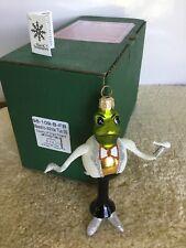 """""""Maestro-White Tux"""" 6"""" Slavic Treasures109B Fb HandBlown ornament Nib 1999"""