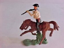 Britains Swoppet cowboy with rifle and 2 guns on belt  8 pieces