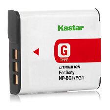 1x Kastar Battery for Sony NP-BG1 FG1 Type G CyberShot DSC HX30 H9 W200 T100 WX1