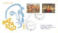 FDC Venetia Italia Repubblica 1970 - Raffaello Sanzio - non viaggiata - Roma
