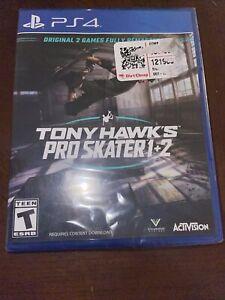 Tony Hawk's Pro Skater 1+2 (PS4, 2020) NEW