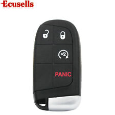 Remote Key Shell 2011- 2015  For DODGE JOURNEY Key Case Transmitter Fob 4 BTN