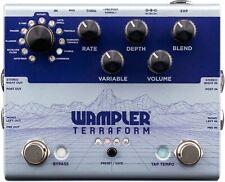 New Wampler Terraform Multi-Modulation Guitar Effects Pedal