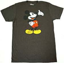 MICKEY MOUSE T-shirt Distressed Retro Disney Licensed Tee Men's LARGE New