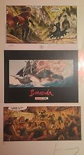 BD EO - Barracuda T2 Cicatrices +3 ex-libris (2 numérotés et signés par Jérémy)