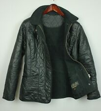 BARBOUR CARBON POLARQUILT Women's (EU)38 or ~SMALL* Quilted Jacket JL5181-