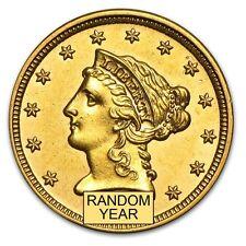 $2.50 Liberty Gold Quarter Eagle - Random Year - Almost Uncirculated - SKU #4023