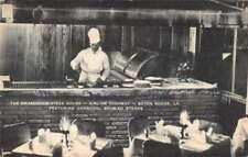 Baton Rouge Louisiana Broadmoor Steak House Charcoal Grill Postcard AA32100