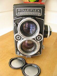 Rollei Rolleiflex 2.8F  White Face  w. Schneider 80mm Xenotar Lens