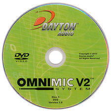 Dayton Audio OMDVD Test DVD for OmniMic V2 System Ver 1