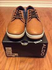 Aldo Coltodino Men Size 11M/EUR 44 Tan/Denim Shoe