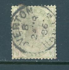 Great Britain 1884 5p Green Scott #103 Nice S.O.T.N. Cancel Cat 210.00
