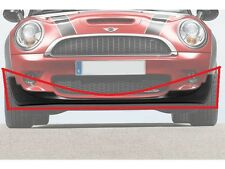 MINI NEW GENUINE R55 S R56 S R57 S FRONT BUMPER LOWER VALANCE SPOILER BLACK