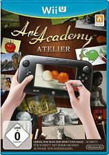 Académie des Beaux-arts Atelier Nintendo Wii U WIIU NOUVEAU +
