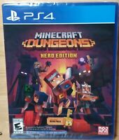 Minecraft Dungeons Hero Edition PlayStation 4 PS4 2020 NEW FREE SHIPPING