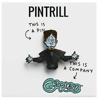 PINTRILL x GRIPLESS - Dwight Schrute Zombie Pin Halloween The Office NEW