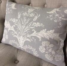 "12x16"" Handmade Cushion Cover In Laura Ashley Josette SteelAusten Steel Fabric"