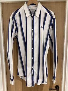 Mens Vivienne Westwood Striped Shirt RRP £190 XL (54)