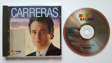 ⭐⭐⭐⭐ Memories ⭐⭐⭐⭐ 16 Track CD ⭐⭐⭐⭐ Jose Carreras  ⭐⭐⭐⭐