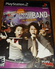 The Naked Brothers Band The Video Game (Nickelodeon) PS2 COMPLETE
