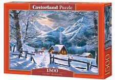 CASTORLAND PUZZLE Snowy Morning 1500 Teile