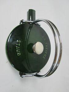 STAUB La Theiere Enamel Cast Iron Teapot Tea Kettle Pot Green Basil Used France