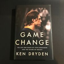 Ken Dryden Signed Book Auto Game Change H/C Montreal Canadiens PSA DNA