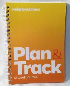 Weight Watchers Plan & Track 12 Week Journal
