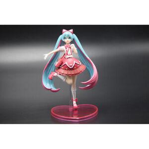 15cm Anime Hatsune Miku Dress Action PVC Figure Collection Model Toy Kid Gifs