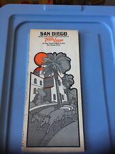 Vintage Map: San Diego and Vicinity , Travelodge 1971 Gousha