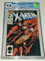 Uncanny X-Men #212 CGC 9.8 NM/MT White Marvel 1986 Wolverine vs Sabretooth