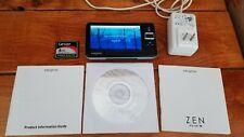 Creative ZEN Vision W Black (30 GB) Digital Media Player MP3 FM Radio