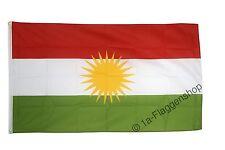 KURDISTAN Hissflagge KURDISCHE Fahnen Flaggen 60x90cm