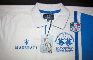 La Martina x Maserati Polo Shirt 3 Men's Size XLARGE