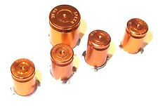 Xbox 360 Metal Controller Bullet Luger ABXY Speer Guide Buttons Copper Colour UK