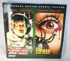 Laserdisc {U} * The Abominable Dr. Phibes ~ Dr. Phibes Rises Again * Vincent Pri