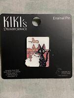 Her Universe Studio Ghibli Kiki's Delivery Service Jiji & Lily Glitter Pin