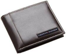 New Tommy Hilfiger Cambridge Passcase  Men's Brown Leather Wallet 5675/02